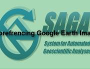SAGA GIS georefrencing
