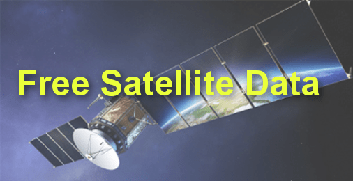 How to download very high resolution satellite images for free.