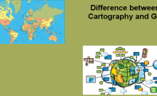Difference between Cartography and GIS