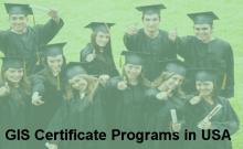30 GIS Certificate Programs in USA