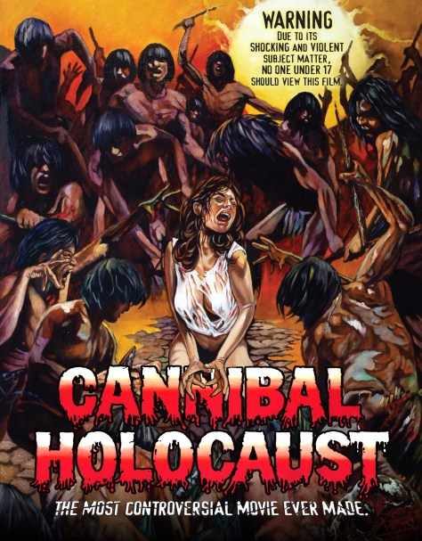 Cannibal Holocaust (1980) 2 Blu-ray + CD soundtrack: directed by Ruggero Deodato: Grindhouse Releasing