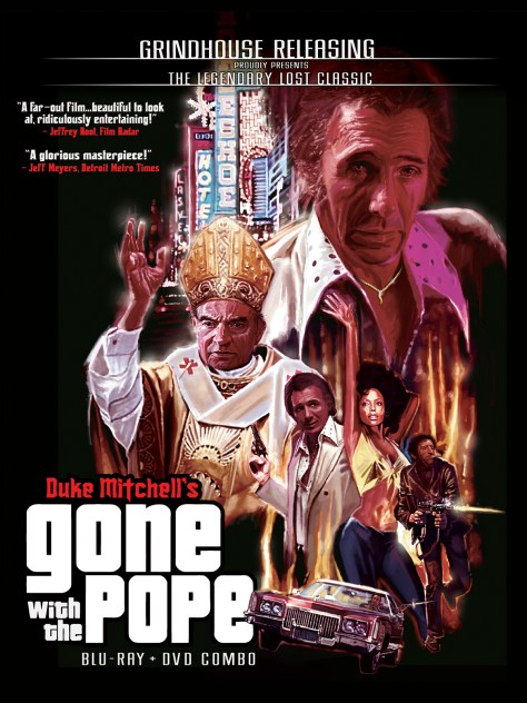 Gone with the Pope Blu-ray + DVD combo. Directed by and starring Duke Mitchell: Grindhouse Releasing