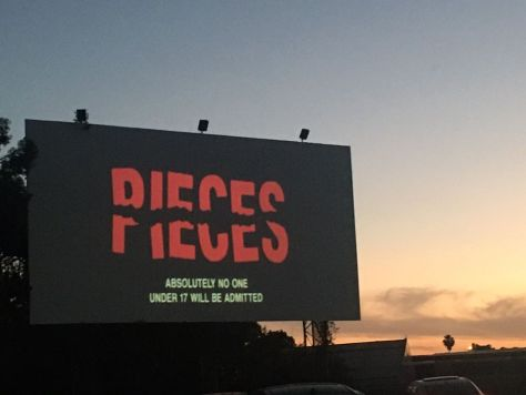 PIECES 1983 drive-in screen