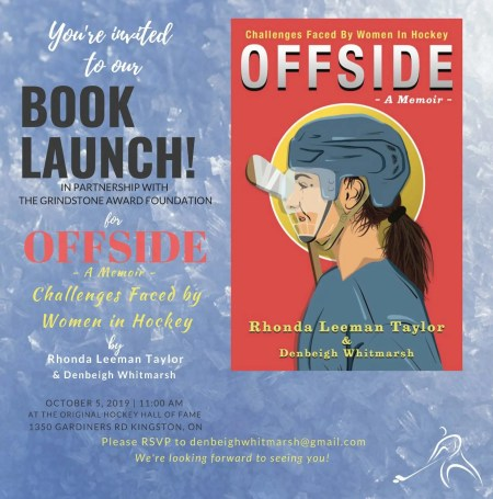 Women's Hockey Book Launch