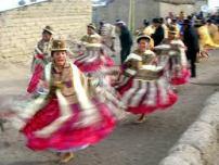 Cholitas in the Altiplano