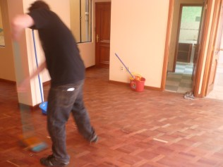 Like sweeping