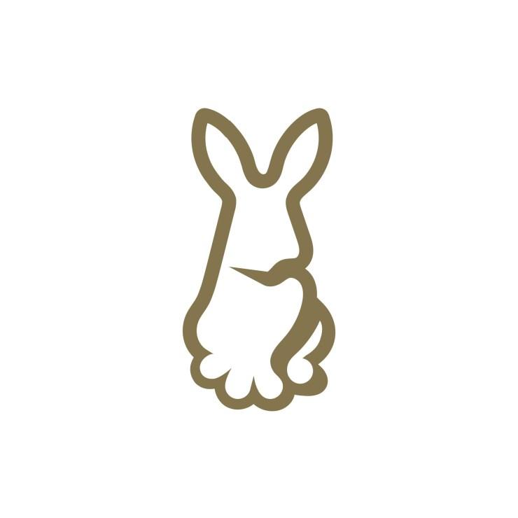 Gold Rabbit Logo Design and Branding Package
