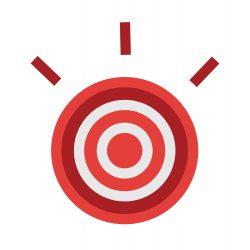 Bespoke icon design - target