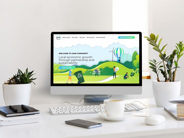 UX and web design for a sustainability partnership in Kirklees