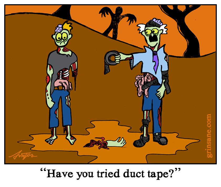 Duct Tape Zombie Repair
