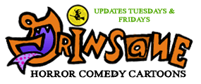 Grinsane Horror Comedy Cartoons