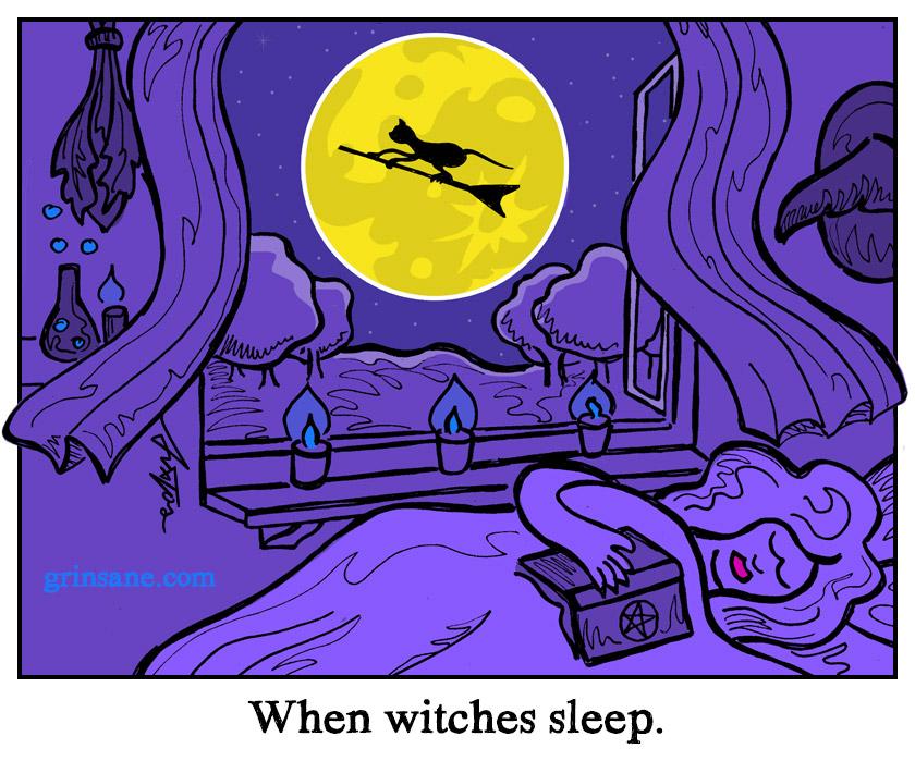 When Witches Sleep