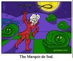 Marquis de Sod cartoon