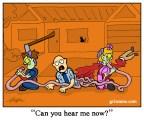 Zombie Telephone Cartoon