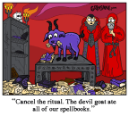 Devil Goat Cartoon