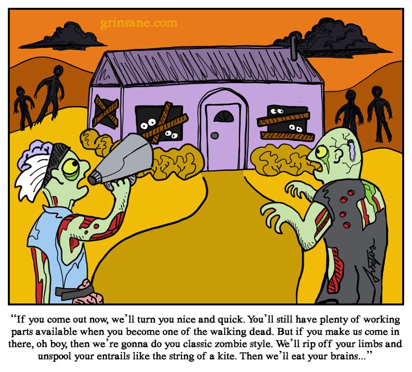 Zombie Negotiator