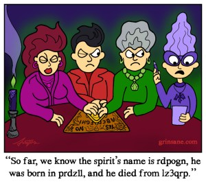 Ouija Board Cartoon