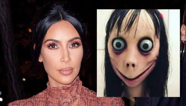 Kim Kardashian and Momo