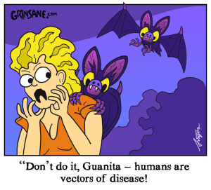 Bat Disease Cartoon