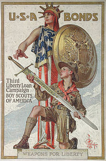Weapons for Liberty by J.C. Leyendecker