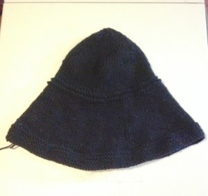 Photo of Hand-knitted Hat Blank Before Felting