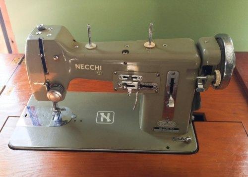 Photo of a Necchi BU Mira Sewing Machine