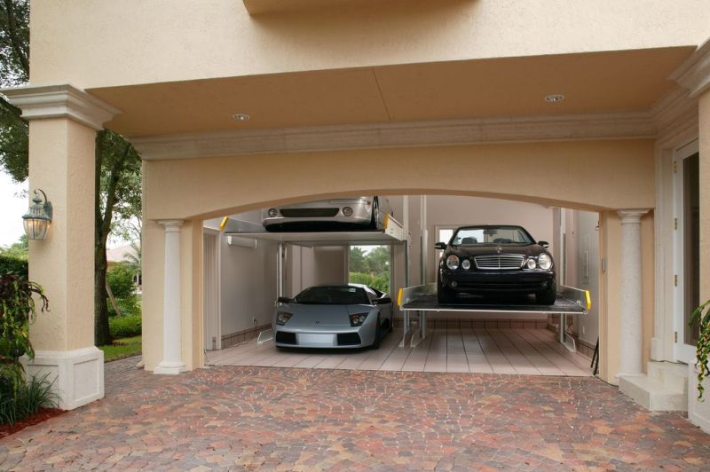 French Modern Garage Wall Ideas