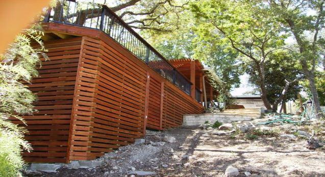 deck skirting ideas other than lattice