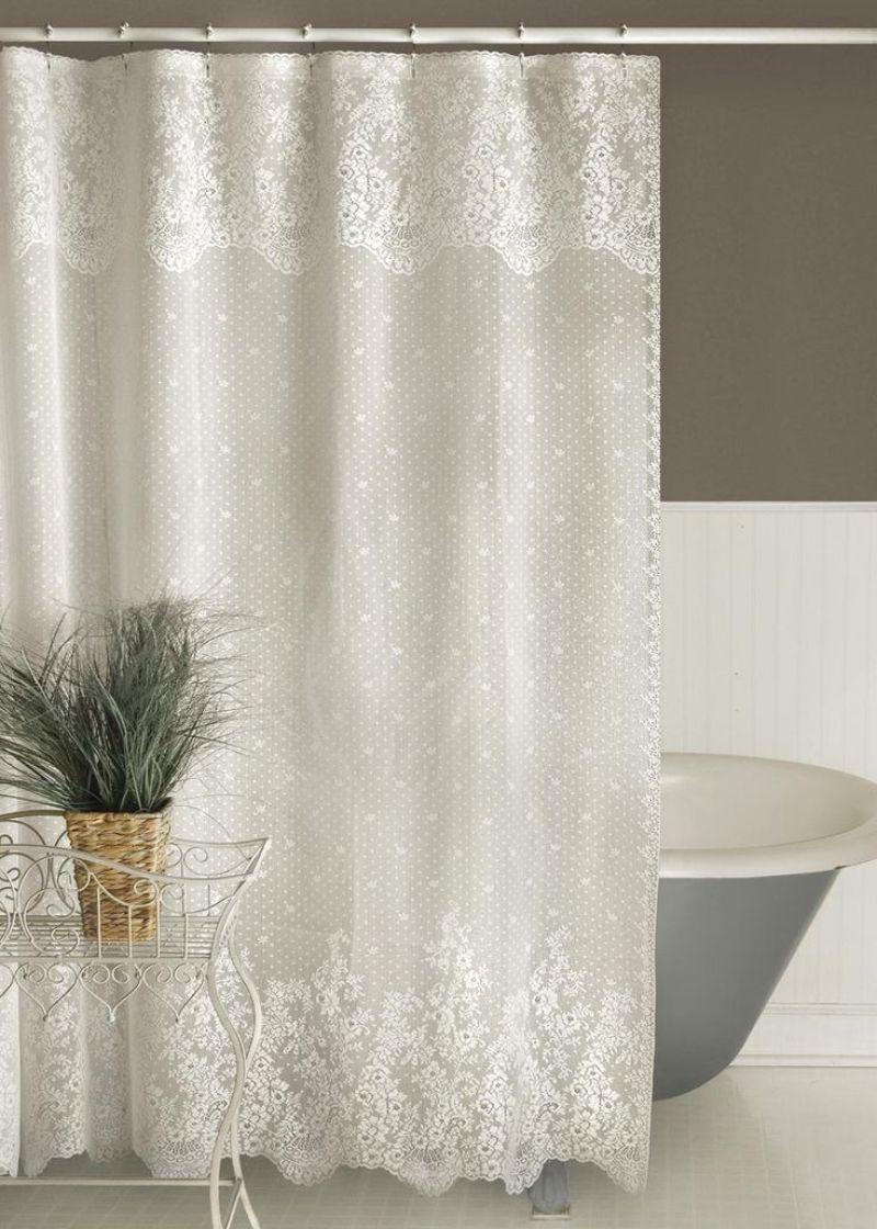 green shower curtain ideas