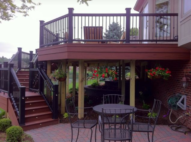 deck skirting design ideas