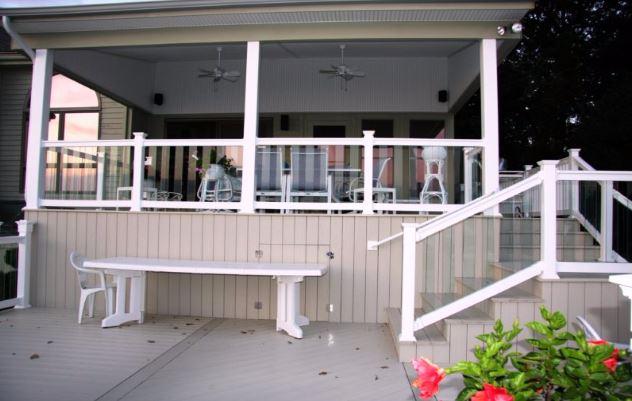 pool deck skirting ideas