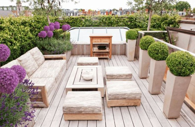 small backyard ideas with deck