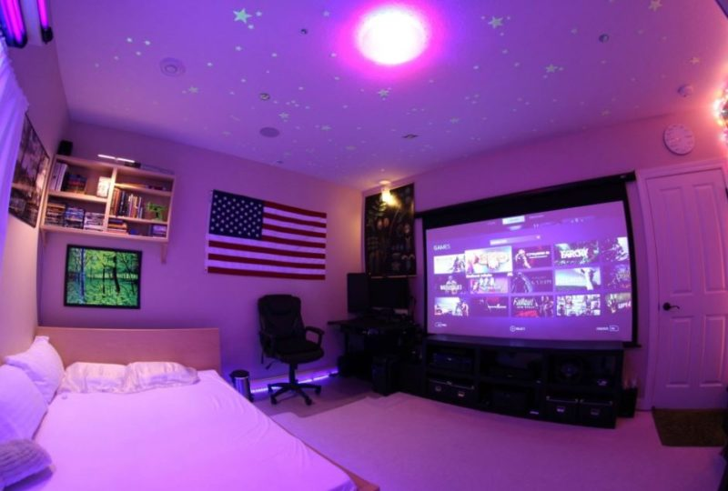 21 amazing and unbelievable recreational room ideas for Game room paint ideas