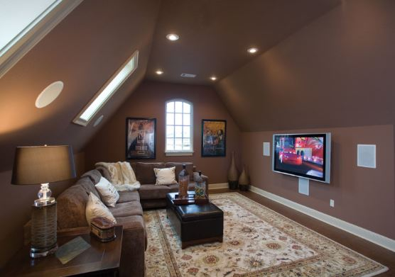 17 most popular bonus room ideas designs styles for Room over garage design ideas