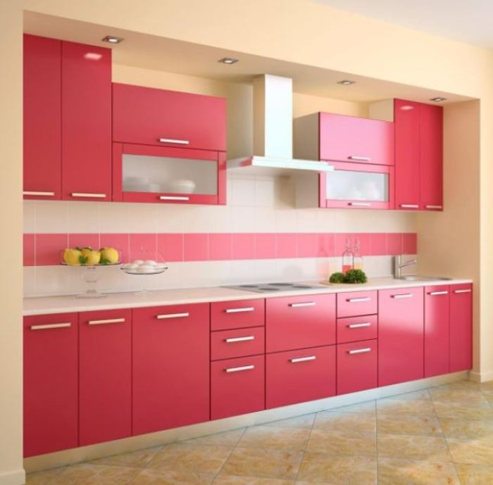 Barbie Two Tone Kitchen