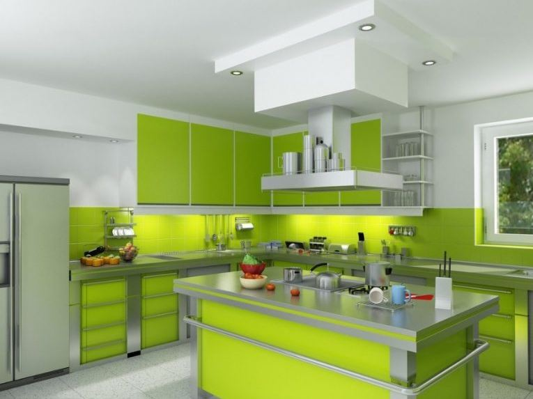 Fresh Green kitchen