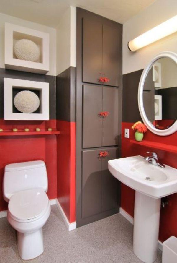 amazing half bathroom