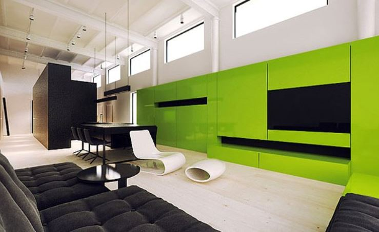 green accent