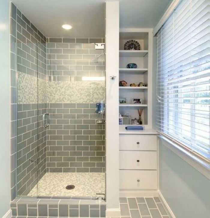 Low Ceiling Basement Bathroom 1. A Split Bathroom One Is The Shower And The Other Is The Small Storage Split Basement Bathroom Ideas