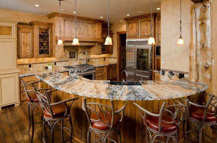 unusual style kitchen