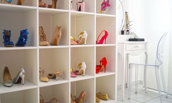 diy walk closet
