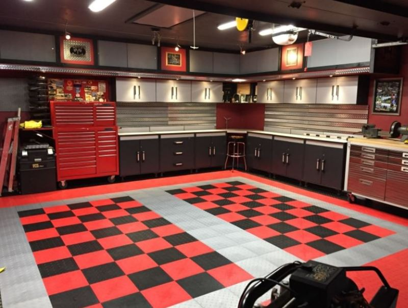 repair concrete garage floor ideas