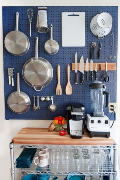 kitchen with Pegboard