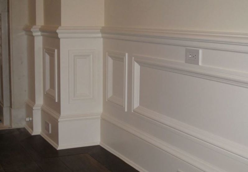 Raised Panel wainscoting