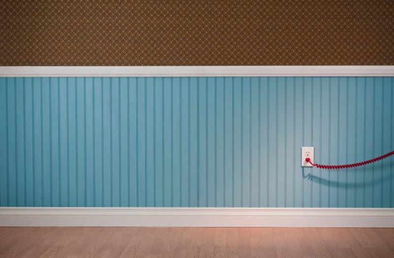 Two-Toned Wainscoting