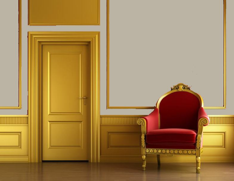 best gold wainscoting