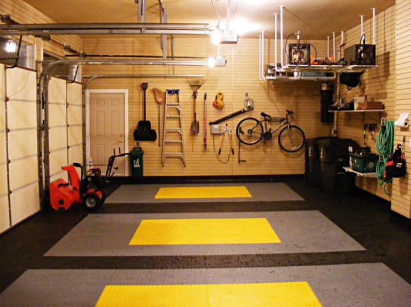 garage flooring ideas pictures