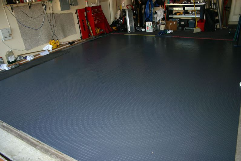 Best garage floors ideas let 39 s look at your options for Garage floor ideas cheap