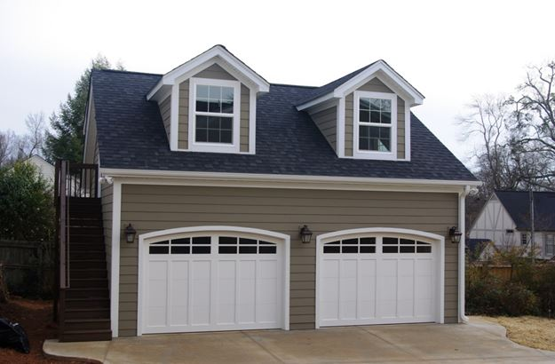 detached garage designs with breezeway