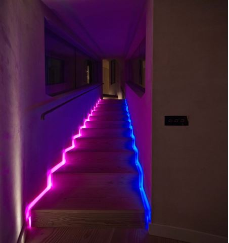 best light for stairwell